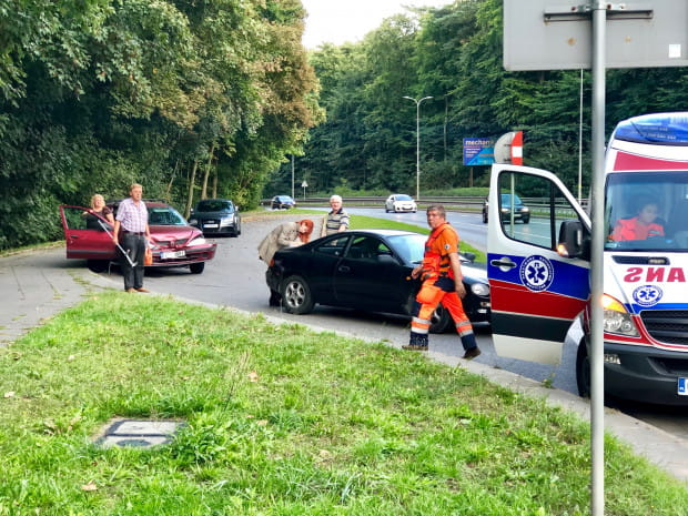 Stłuczka na Słowackiego to chleb powszedni dla gdańskich służb. Rocznie dochodzi tu do ponad 300 różnego rodzaju zdarzeń drogowych.