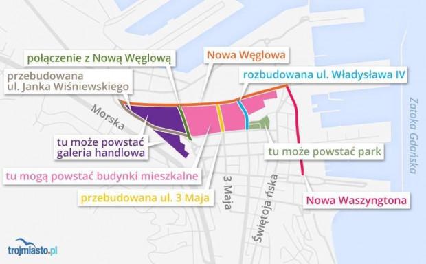 Tak mają wyglądać zmiany na Międzytorzu według obowiązującego planu zagospodarowania przestrzennego.