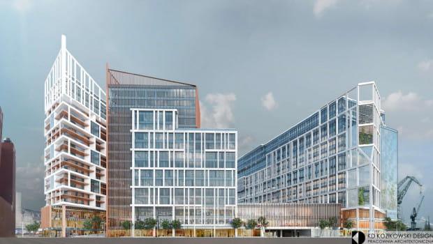 Budynki, które mogą powstać w sąsiedztwie ECS-u będą go znacznie przewyższać.