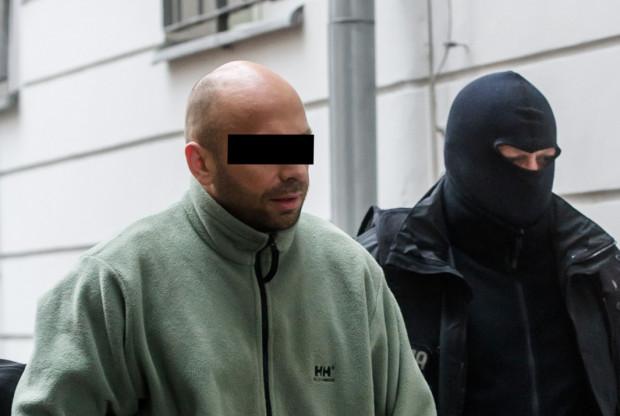 Krystian W. kilka dni po zatrzymaniu go przez policję.