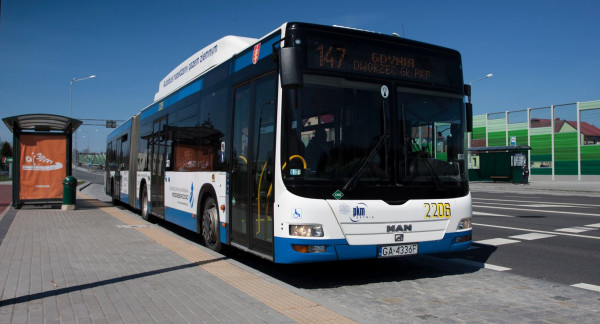 Wszystkie nowe autobusy firmy MAN trafią do Gdyni w ciągu roku.