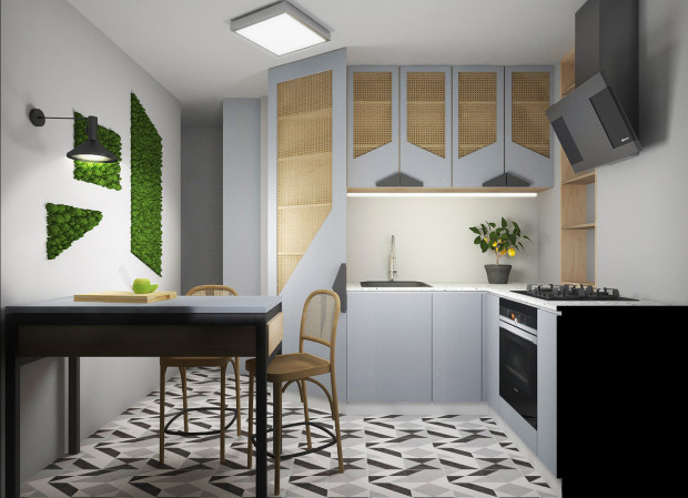 Aranżacje Wnętrz Mała Kuchnia W Bloku Serwis Dom I