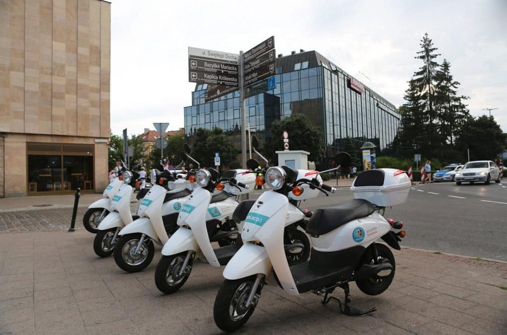 Электро: самокаты, велосипеды и автомобили в аренду в Гданьске
