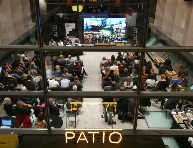 Debata otwierająca Open House Gdańsk odbyła się w Patio ASP. Jej mecenasem był Invest Komfort.