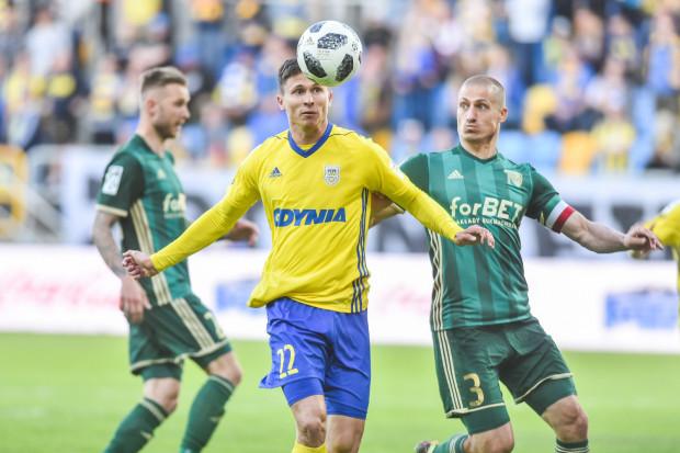 Maciej Jankowski (nr 22) zapewnił zwycięstwo Arce Gdynia we Wrocławiu, ale na podkreślenie zasługuje także gol 17-letniego Mateusza Młyńskiego.