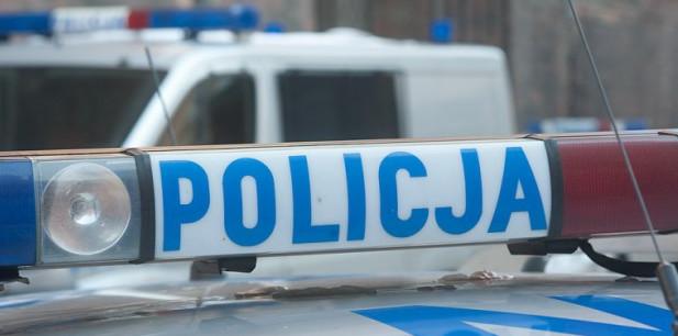 Podczas zatrzymania policjant oddał strzał ostrzegawczy.