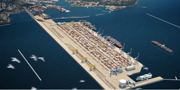 Port Zewnętrzny w Gdyni.