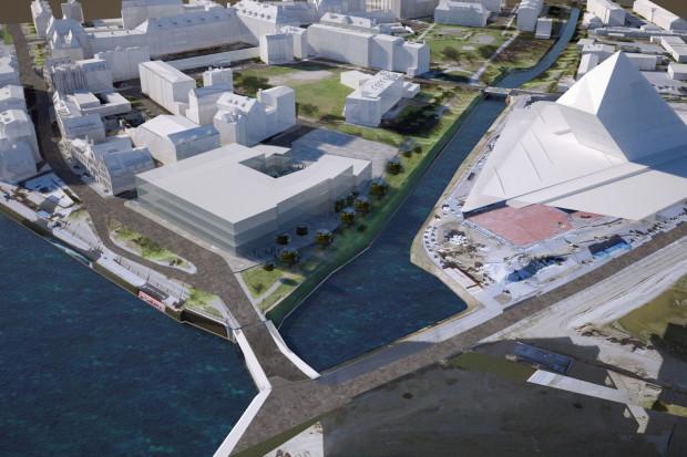 Nowa siedziba Muzeum Gdańsk przy ul. Rycerskiej. - Chciałbym, by powstała, ale może na to nie starczyć środków - przyznaje Paweł Adamowicz.