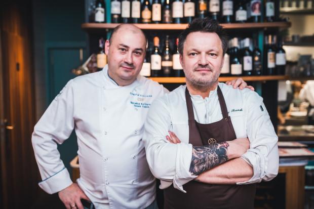 Podczas czwartej kolacji z cyklu Guest Chef siedmiodaniowe menu przygotowali szefowie kuchni: Jacek Fedde i Maciej Rosiński