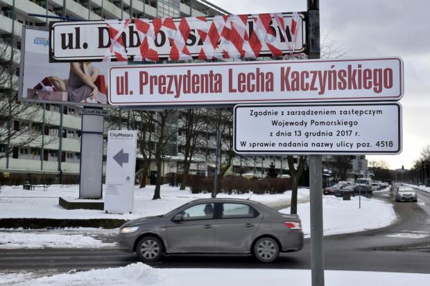 Ul. Dąbrowszczaków na Przymorzu - podobnie jak dwie inne ulice wskazane przez IPN jako propagujące komunizm - ostatecznie zmieniła swoją nazwę. Jej nowym patronem będzie prezydent Lech Kaczyński.