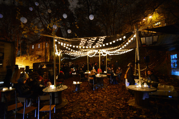 Narracje to największa plenerowa impreza w tym tygodniu. Na zdjęciu edycja z 2014 roku we Wrzeszczu.