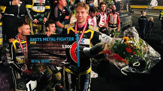 Jonas Seifert-Salk w zeszłym sezonie jeździł w duńskiej drużynie Slangerup Speedway Klub.