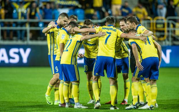 Piłkarze Arki Gdynia musza pamiętać, że z 9. miejsca na 8. na koniec pierwszej fazy zmagań nie prowadzi łatwa droga.