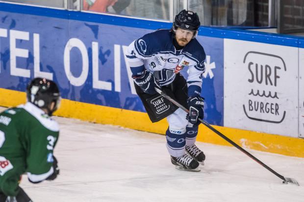 Petr Polodna zdobył jedyną bramkę dla gdańszczan w meczu z Cracovią. Wyrównał na 1:1, ale później trafiali tylko goście.