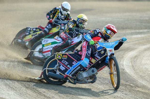 Gdańscy żużlowcy mogą już myśleć o szykowaniu się do kolejnego sezonu. Zgodę na występy w I lidze mogą otrzymać do 6 grudnia. Na zdjęciu Mikkel Bech.
