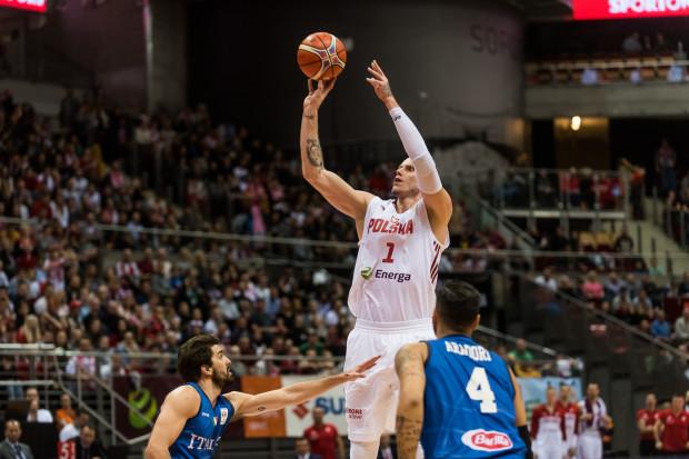 Maciej Lampe zdobył w niedziele 22 punkty dla reprezentacji Polski.