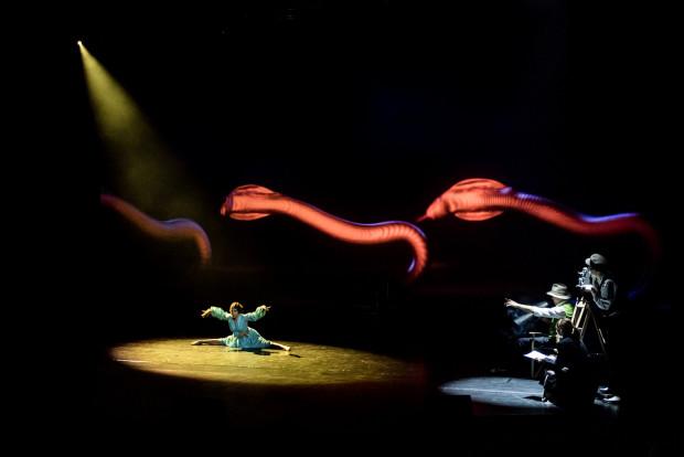 Jedną z najbardziej efektownych scen tanecznych jest scena tańca Poli Negri podczas kręcenia filmu przez Ernsta Lubitscha.