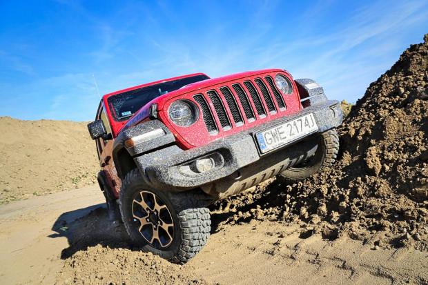 Legendarna terenówka - Jeep Wrangler.