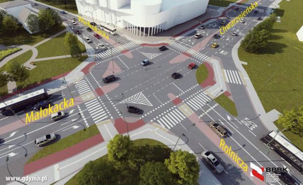 Flagowym projektem drogowym w Gdyni w 2019 roku ma być przebudowa ul. Chwarznieńskiej na Witominie.