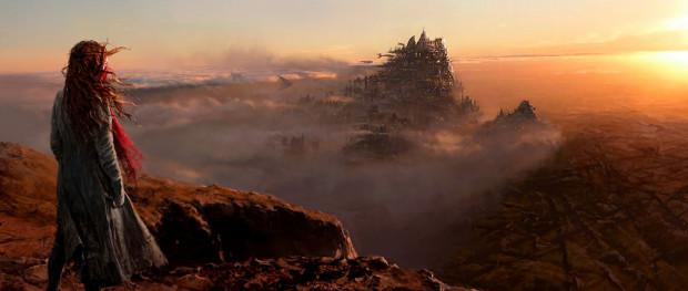 """Największą i chyba jedyną zaletą """"Zabójczych maszyn"""" są świetne efekty specjalne i znakomicie zwizualizowane gigantyczne metropolie przemierzające wyludniałą Ziemię."""