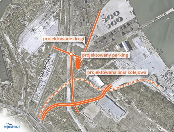 Przebudowa dróg w Porcie Północnym realizowana ze środków własnych Portu
