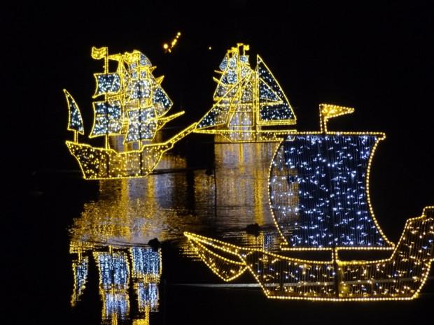 Czas świątecznego wyciszenia warto przeznaczyć na spacer z rodziną po mieście i podziwianie m.in. iluminacji w Parku Oliwskim.
