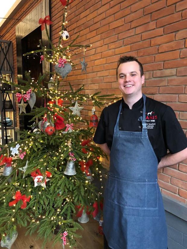 Szef kuchni restauracji Canis - Mateusz Janusz