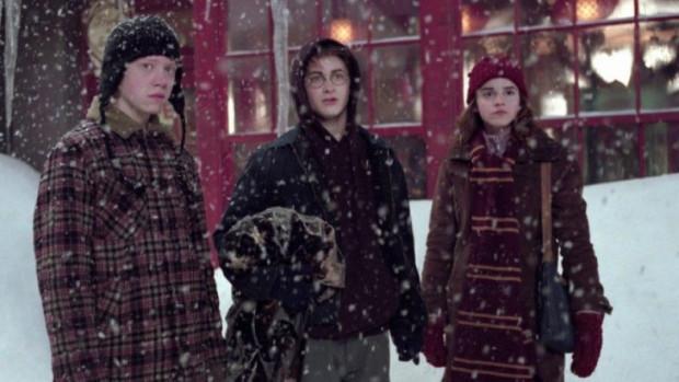 Motyw świąt przewija się w niemal każdej filmowej części przygód Harry'ego Pottera. Dla niektórych więc ta słynna seria kojarzyć się będzie ze świątecznym seansem przy rozgrzewającej herbacie i smacznym makowcu.