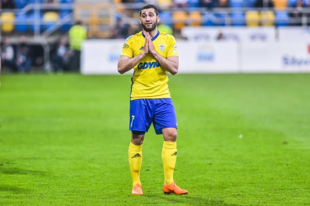 Luka Zarandia chciałby sprawdzić się w jednej z pięciu najlepszych lig Europy. Arka Gdynia zgodzi się na transfer reprezentacyjnego skrzydłowego Gruzji, jeśli nadejdzie satysfakcjonująca oferta tak dla piłkarza jak i klubu.