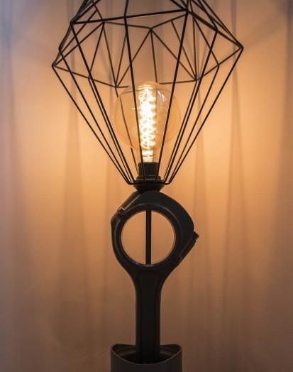 Unikatową lampę przygotowali studenci Uniwersytetu Morskiego w Gdyni.