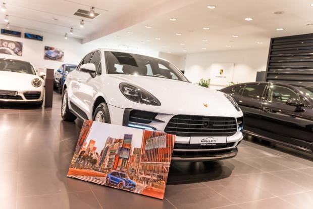 Niespodzianka od Porsche Centrum Sopot - do wylicytowania Porsche Macan na weekend.