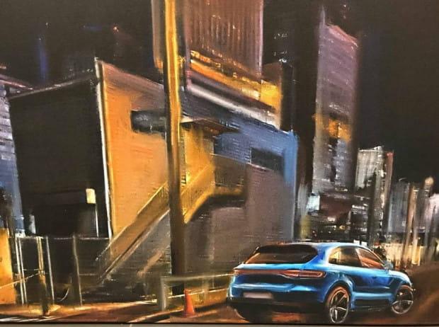 Wylicytuj obraz z Porsche Macan.
