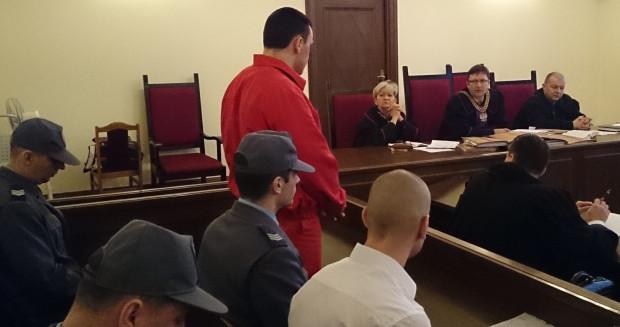 Stefan W. podczas procesu przed sądem rejonowym w Gdańsku w 2014 roku. Został wówczas skazany na 5,5 roku więzienia.