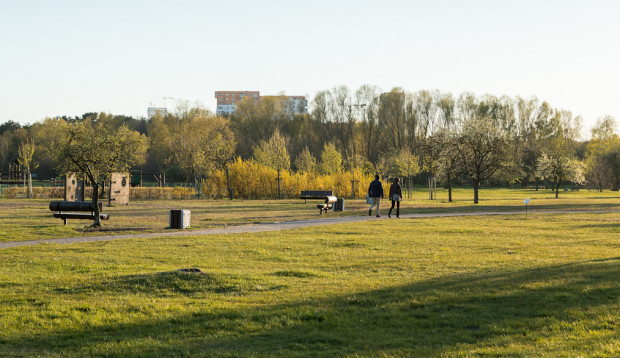 Park Nadmorski w Gdańsku powstał w miejscu nieużytków i licznych ogródków działkowych.