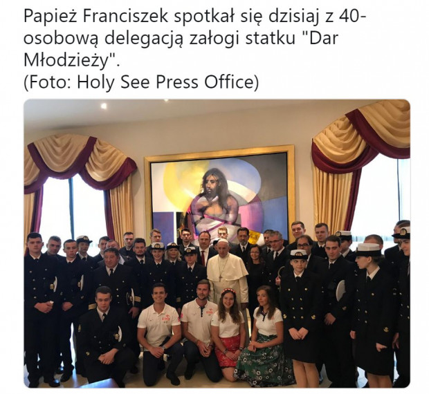 W sobotę uczestnicy rejsu spotkali się Papieżem Franciszkiem.