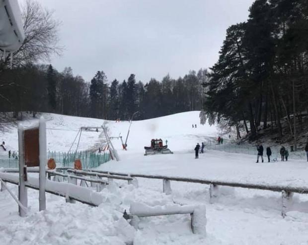Tak w weekend wyglądała Łysa Góra w Sopocie.