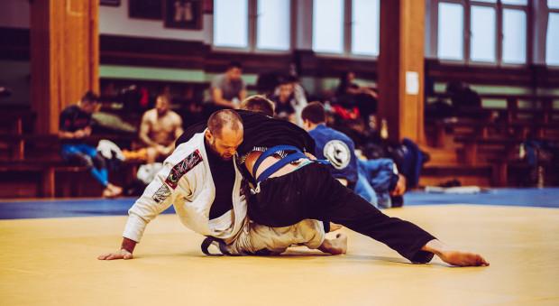 na mecie w gdańskiej AFFiS przez 24 godziny będą toczyć się walki brazylijskiego jiu-jitsu.