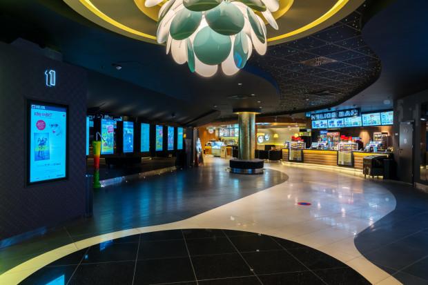 W ferie można się też zaszyć w ciepłej i przytulnej sali kinowej.