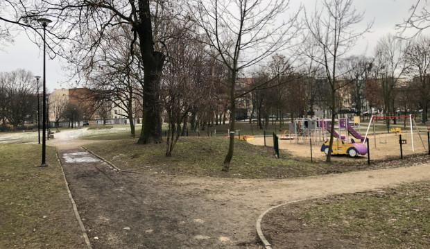 Park św. Barbary w Gdańsku.