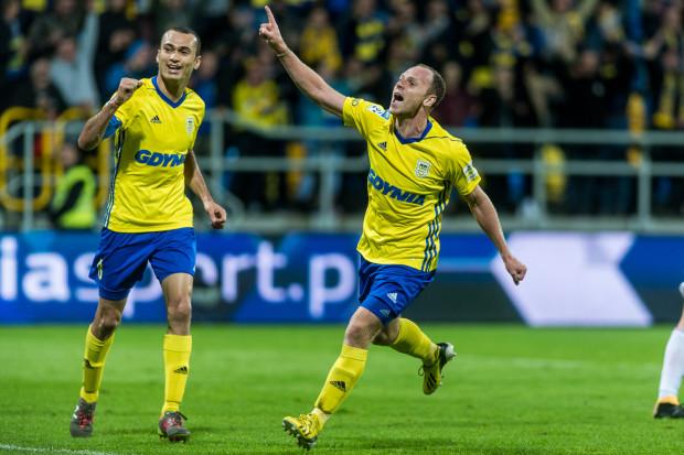 Rafał Siemaszko i Marcus w przeszłości wielokrotnie cieszyli się wspólnie z bramek strzelanych w Arce Gdyni. Dlatego napastnik gola z niedzieli dedykuje starszemu o 2 lata koledze, który w styczniu został odsunięty od drużyny.