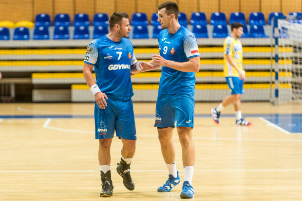 Dawid Przysiek i Robert Kamyszek zdobyli ponad połowę bramek dla Arki, ale nie poprowadzili jej do wygranej przeciwko MMTS.