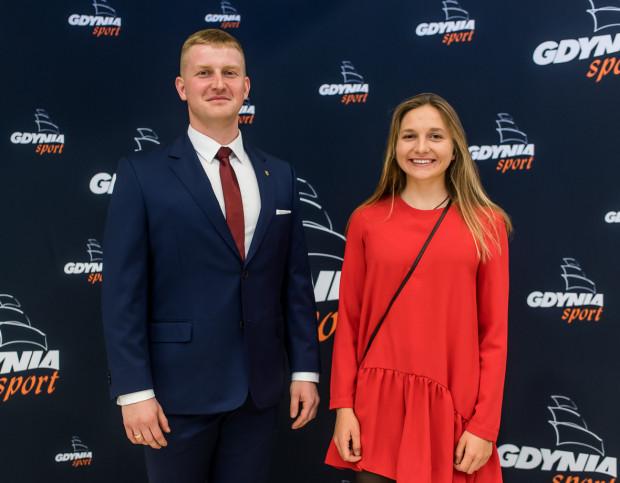 Aleksandra Melzacka i Łukasz Miedzik najlepsi sportowcy Gdyni w 2018 roku.