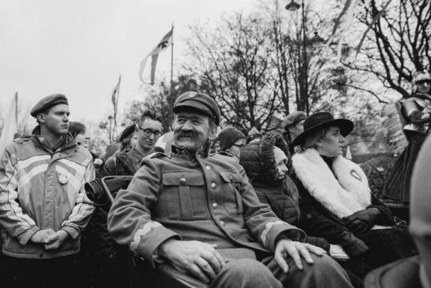 Floriana Staniewskiego mogliśmy w ostatnich latach spotkać na Paradach Niepodległości, gdzie wcielał się w postać marszałka Józefa Piłsudskiego.