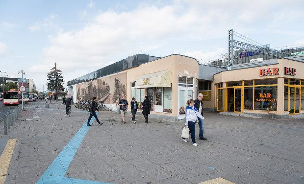 Obecna część komercyjna dworca ma zostać wyburzona, dzięki czemu będzie można powiększyć poczekalnię.