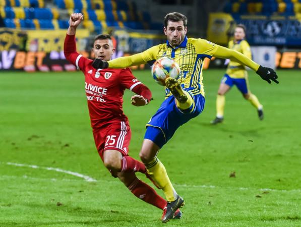 Luka Zarandia w dwóch ostatnich kolejkach nie grał w pełnym wymiarze czasu.