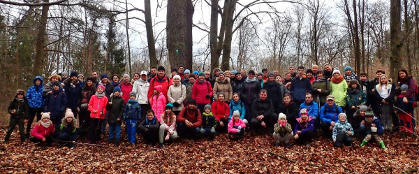 Podczas wędrówki zapoznaliśmy się z pomnikami przyrody ożywionej na terenie lasów osowskich