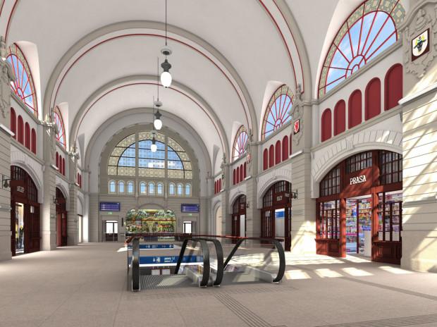 Gmach dworca w Gdańsku wciąż czeka na rozpoczęcie prac, które przywrócą mu dawny charakter.