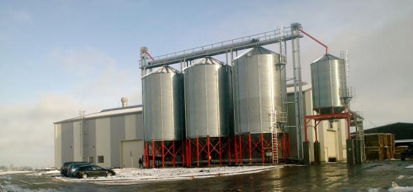 Widok Energia to sopocka spółka z branży energii odnawialnej. Na zdjęciu zakład produkcji pelletu w Koniecwałdzie.