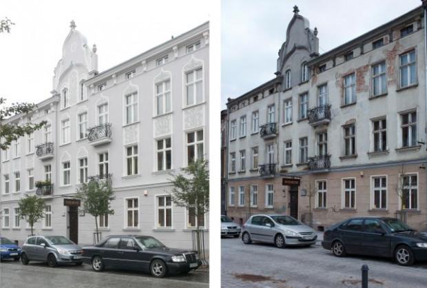 Pierwsze miejsce w konkursie podsumowującym remonty gdańskich elewacji w 2017 roku zajęła wspólnota przy ul. Wajdeloty 18.