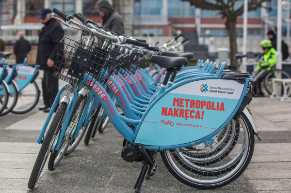 System Roweru Metropolitalnego Mevo wystartował we wtorek 26 marca.
